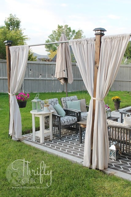 Summer Privacy Screen