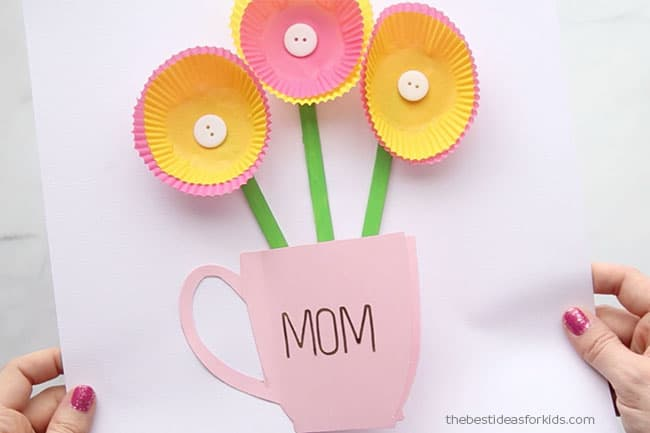 3D Card Mothers Day Signs