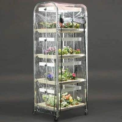 4-Tiered Movable Indoor Greenhouse