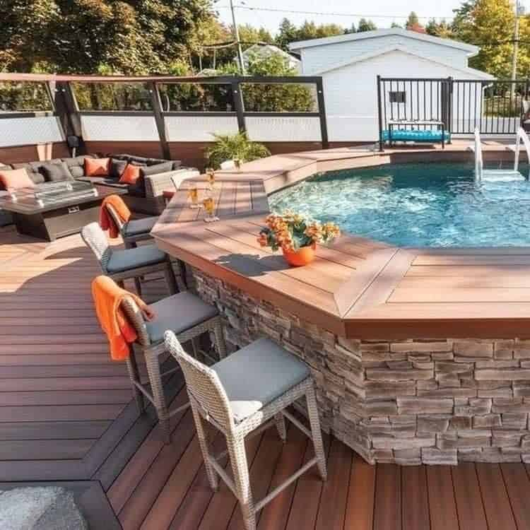 20 Epic Above Ground Pool With Deck Ideas