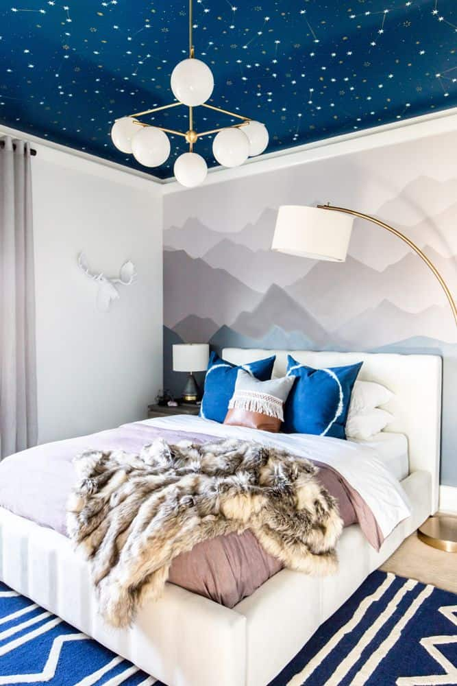 Adult Space Themed Bedroom