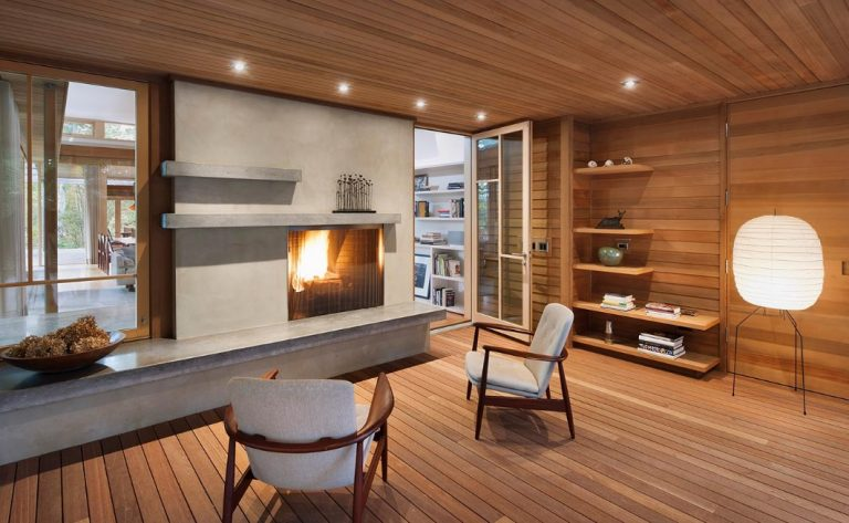 All Wood Accent Wall Ideas