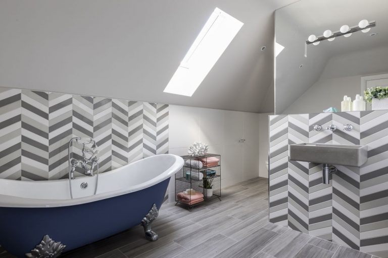 Bathroom Ideas Blue and Grey