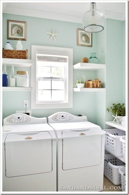 Beach Laundry Room Paint Colors