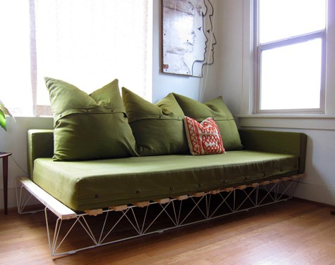 Bed Base Couch Idea