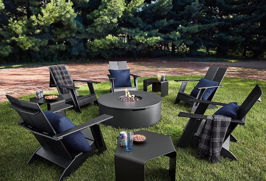 Black Fire Pit Ideas