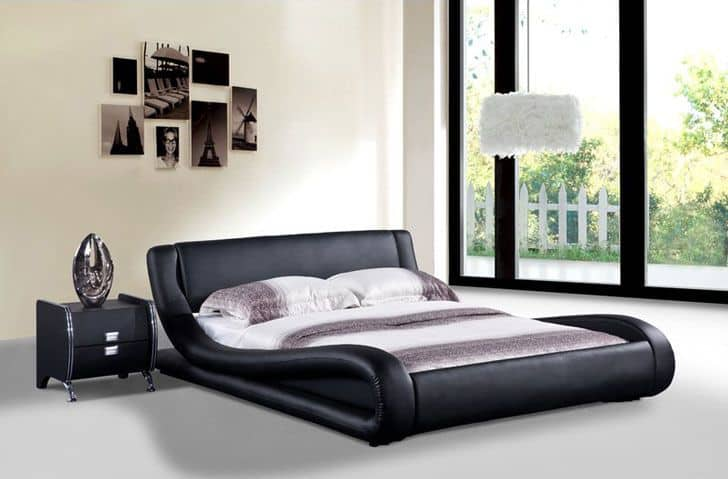 Black Metallic Cool Beds