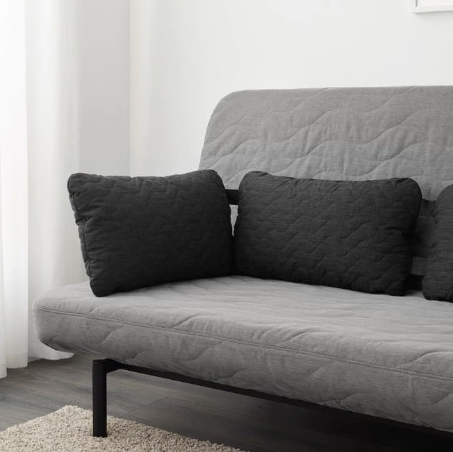 Black Pillow Ideas For A Gray Couch