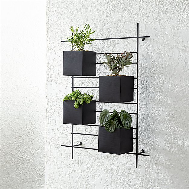 Box Wall Planters Indoor
