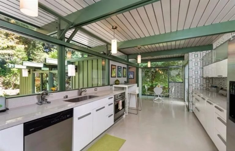 Breezy Mid Century Modern Kitchen
