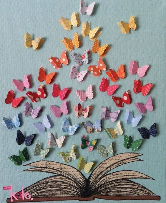 Butterfly Decorations For Library