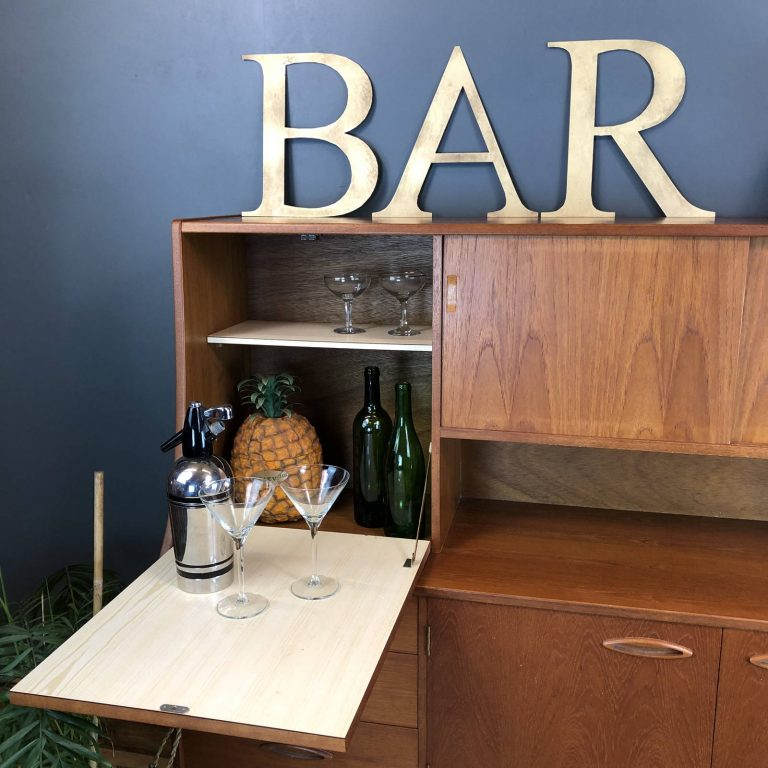 Cabinet Home Bar Ideas
