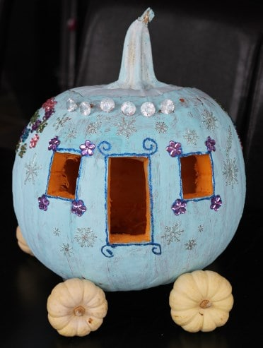 Carriage Carving Pumpkin