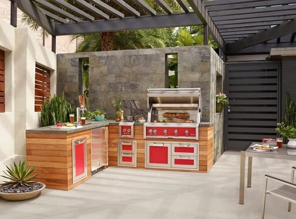 Cheap Outdoor Kitchen
