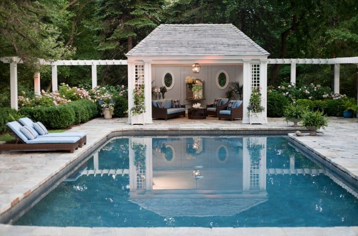 Chic Pool Cabana Ideas