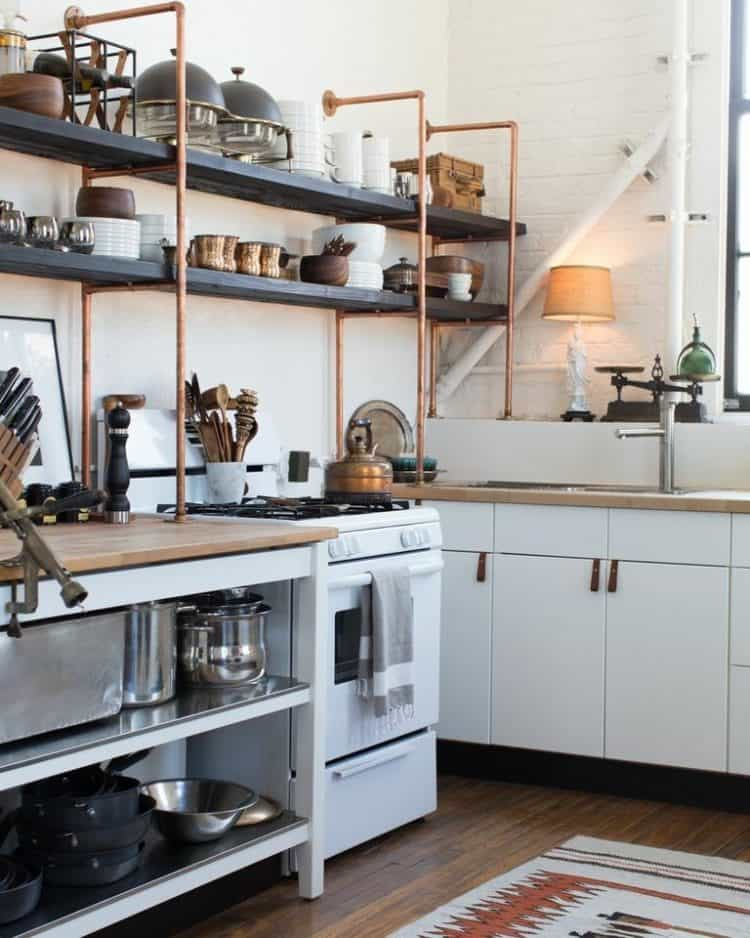 Chopper Open Kitchen Shelving
