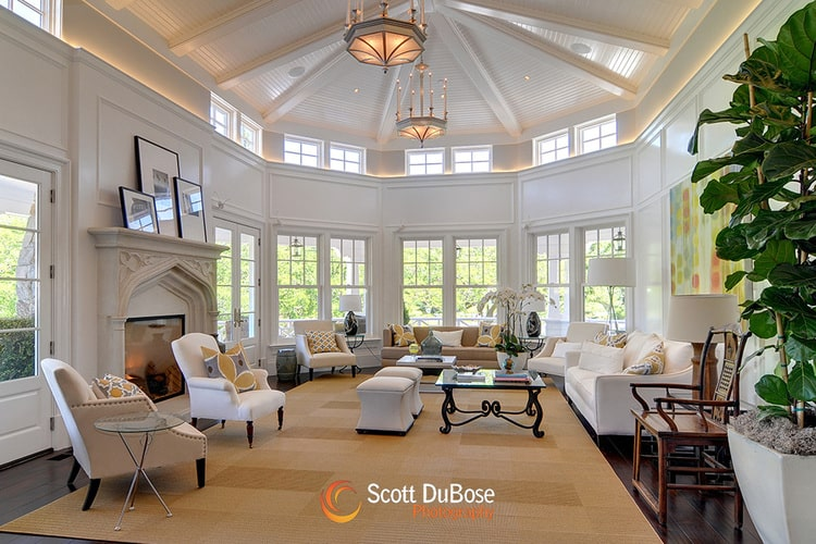 Classic Mansion Living Rooms