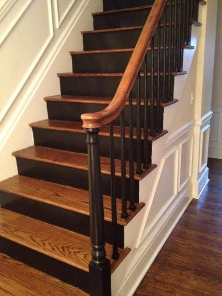 Painted Staircase Ideas - Classic Style Stairs