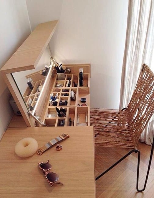 Clever Makeup Storage Ideas