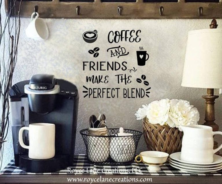Buy Coffee Bar Sign Vinyl