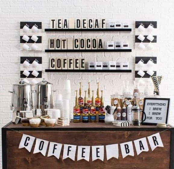 Complete Coffee And Tea Station Ideas
