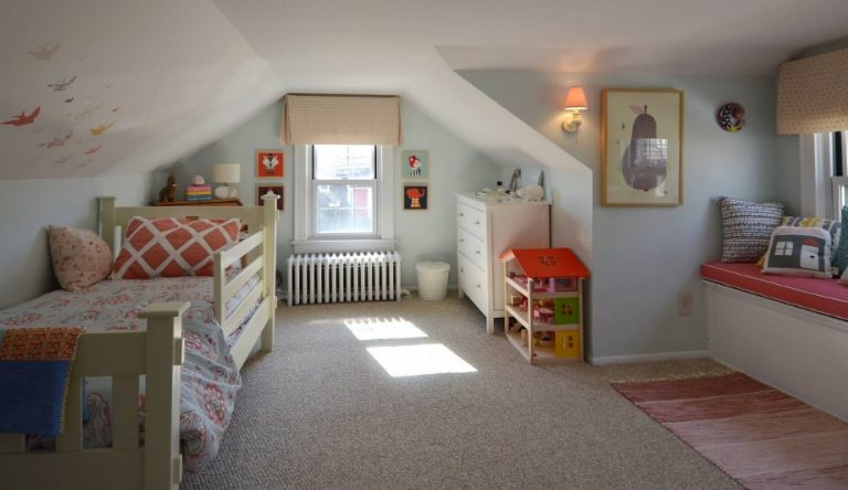Contemporary Attic Bedroom Ideas For Kids