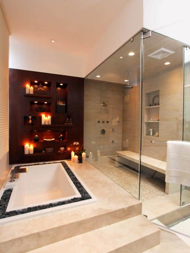 Contemporary Luxe Bathroom Ideas