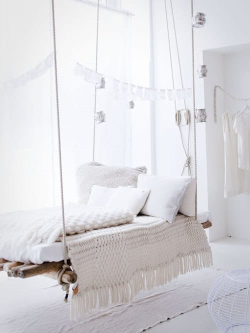 Cool Hanging Bed