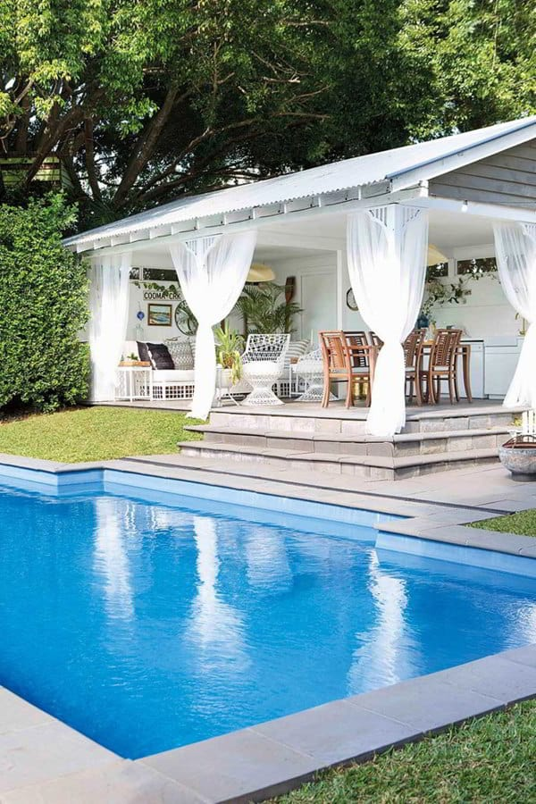 Cozy Pool Cabana Ideas