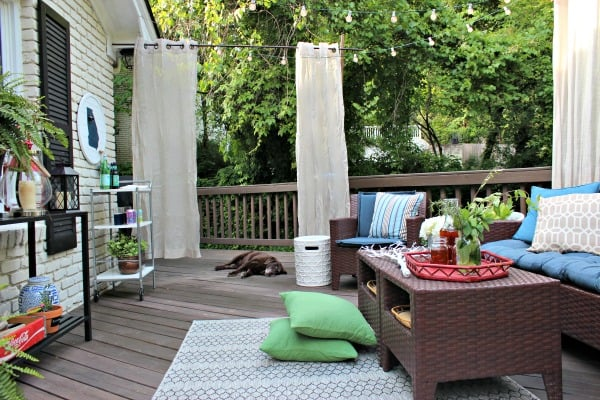Curtain Outdoor Privacy Screens