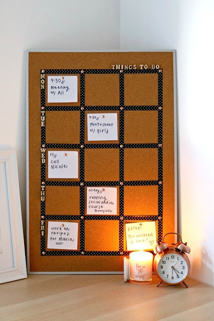 Custom Cork Board Ideas