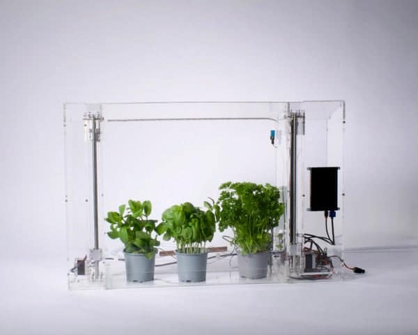 DIY Automated Indoor Greenhouse