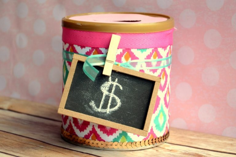 DIY Can Piggy Bank
