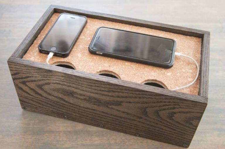 DIY Charging Station and Storage