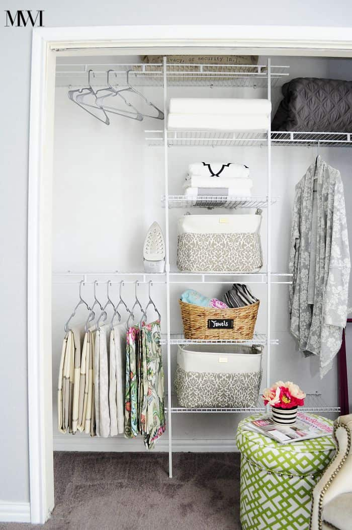 DIY Closet Organizer Under $100
