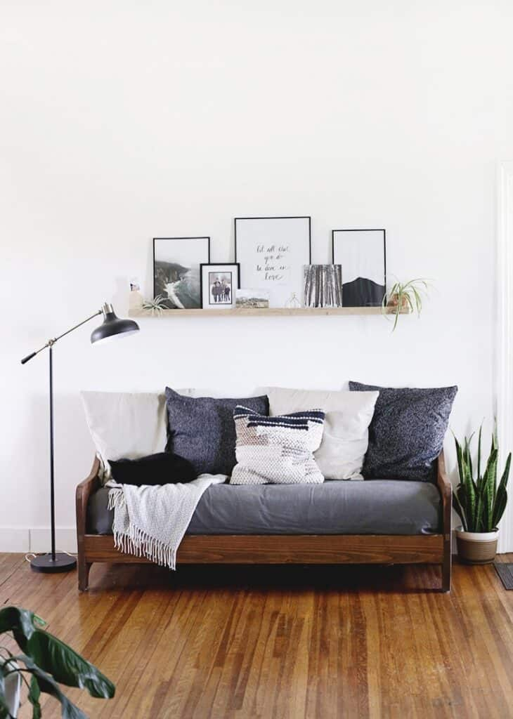 DIY Contemporary Couch