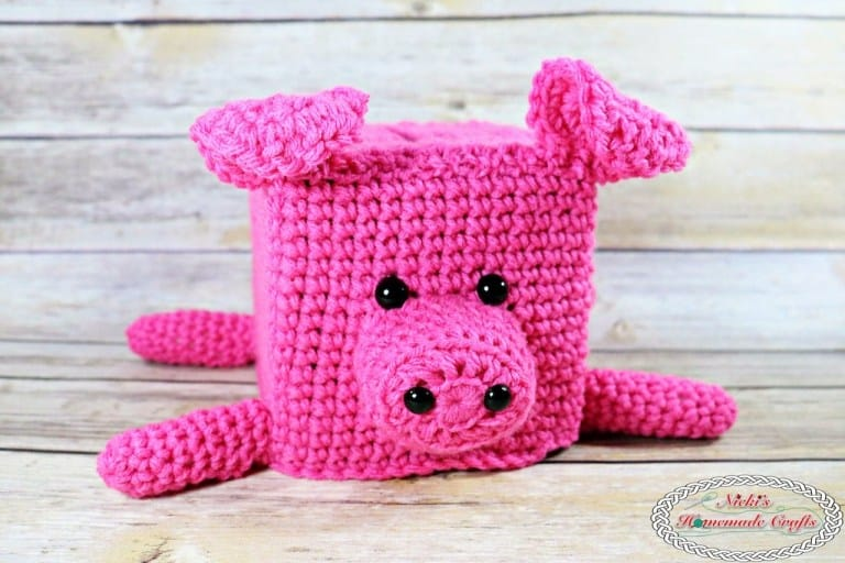 DIY Crochet Piggy Bank