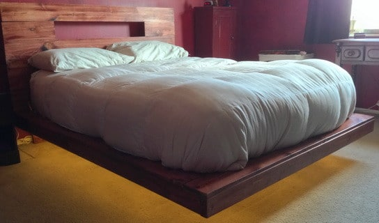 DIY Sophisticated Bed Frame