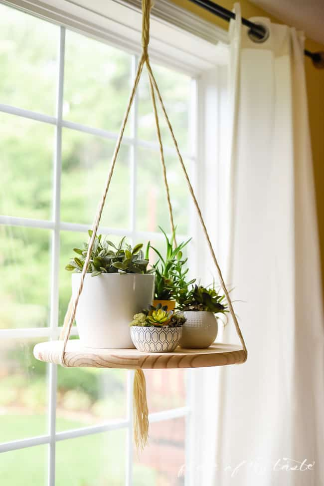DIY Floating Plant Stand