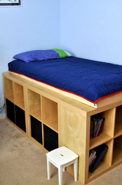 DIY Compact Bed Frame