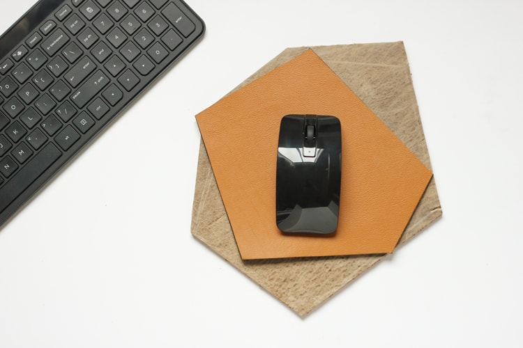 DIY Geometric Mouse Pad