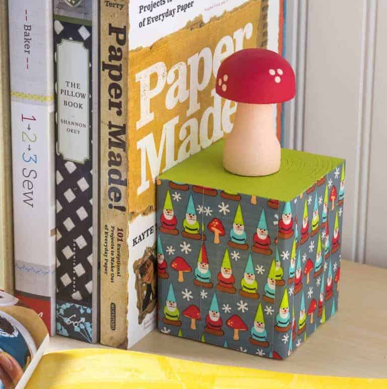DIY Gnome Bookends