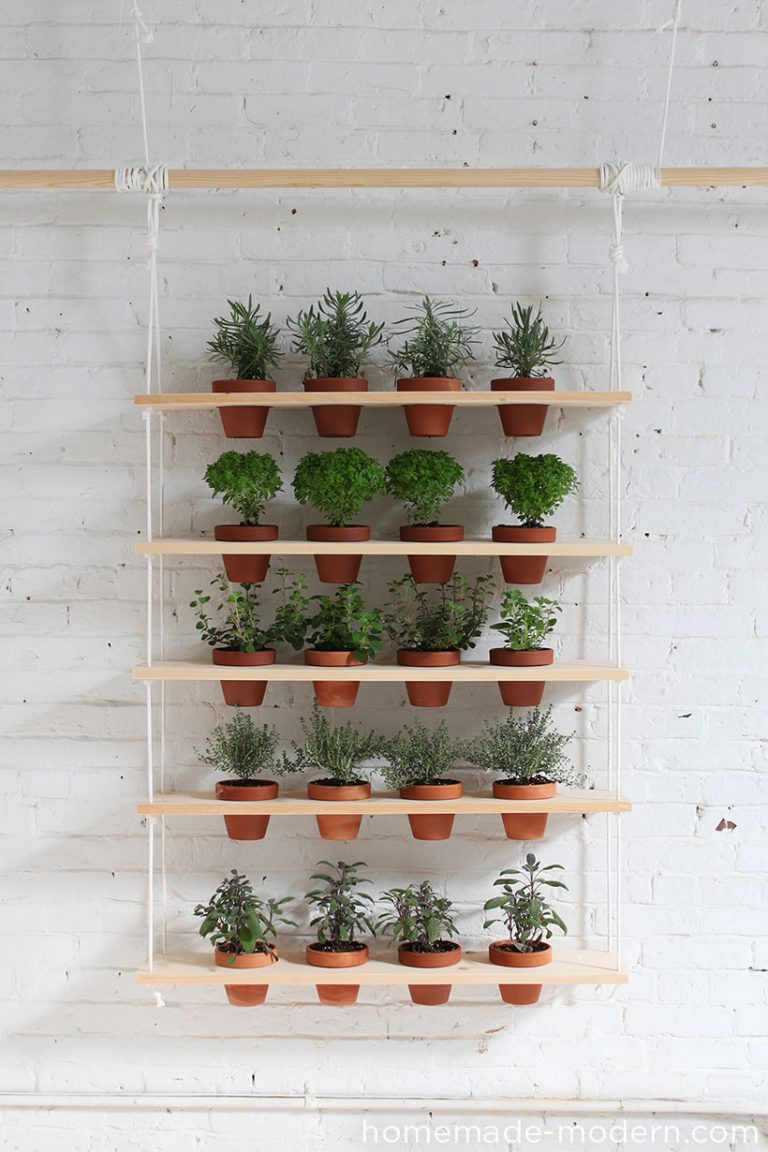 DIY Hanging Stand Plant