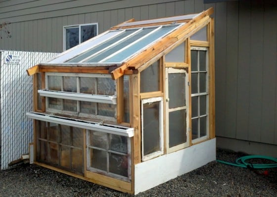 DIY Lean-to Greenhouse