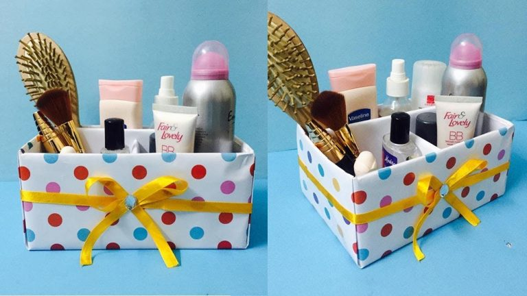 DIY Makeup Storage Box Ideas