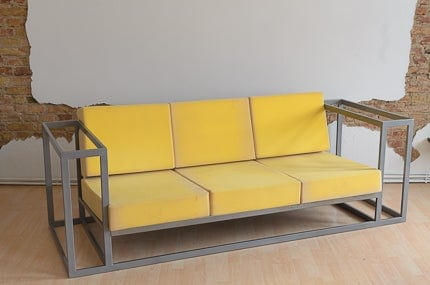 DIY Metal Couch