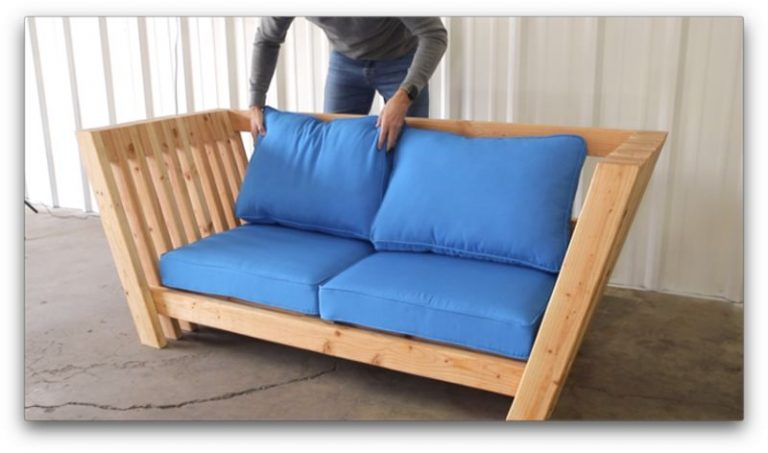 DIY Modern And Minimalist Couch