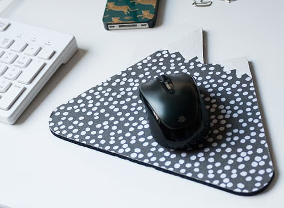 DIY Mountain Mouse Pad