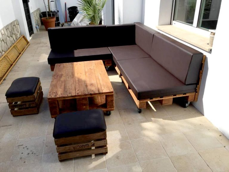 DIY Movable Couch