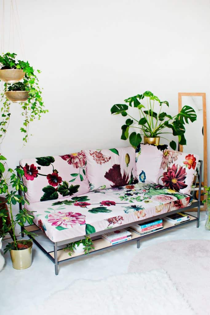 DIY Multifunctions Floral Couch